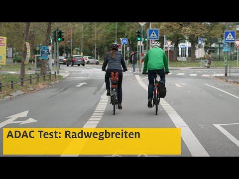 Test: Sind die Radwege breit genug? | ADAC