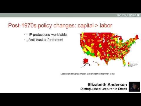Distinguished Lecturer in Ethics: Elizabeth Anderson