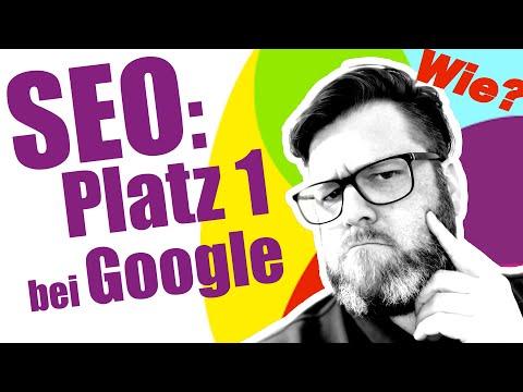 SEO: Wie wird meine Website bei Google gefunden?