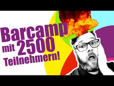 Online BarCamp mit 2500 Teilnehmern!