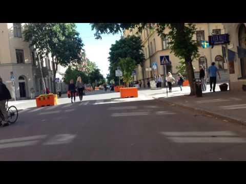 Swedenborgsgatan har blivit gågata