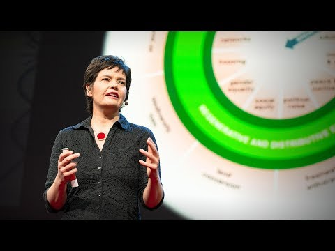 A healthy economy should be designed to thrive, not grow | Kate Raworth