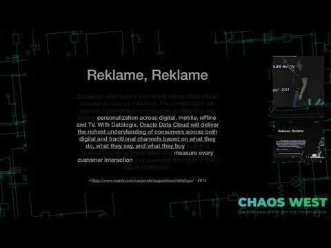 35C3 ChaosWest - Track me, if you … oh.