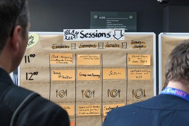 BarCamp Kiel, Session Plan 2010