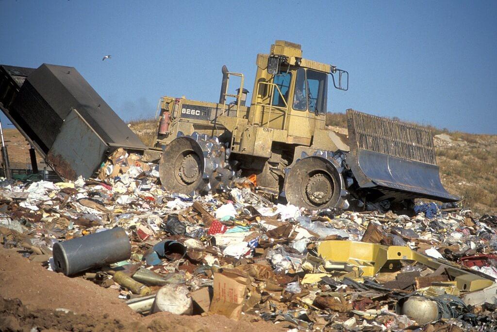 Amerikanische Müllhalde