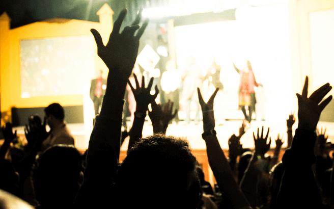 Eine bunte Party | Bestimmte Rechte vorbehalten von Arun Basil Lal