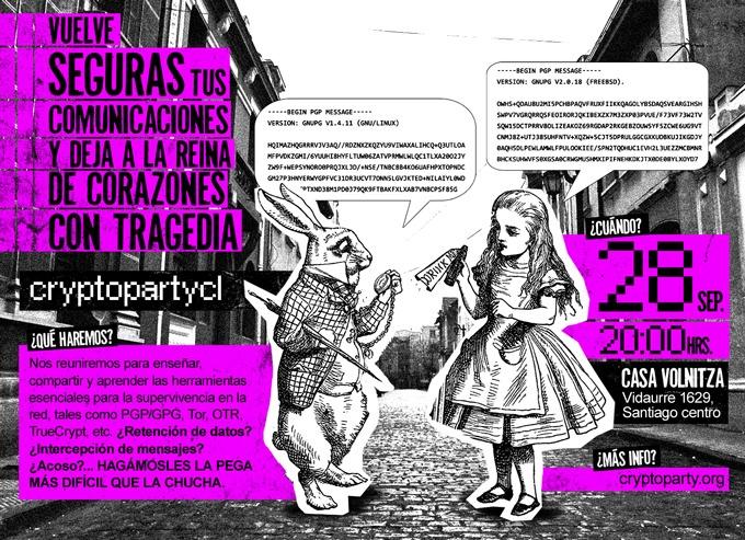 cryptoparty santiago, CC-Lizenz (BY-SA)
