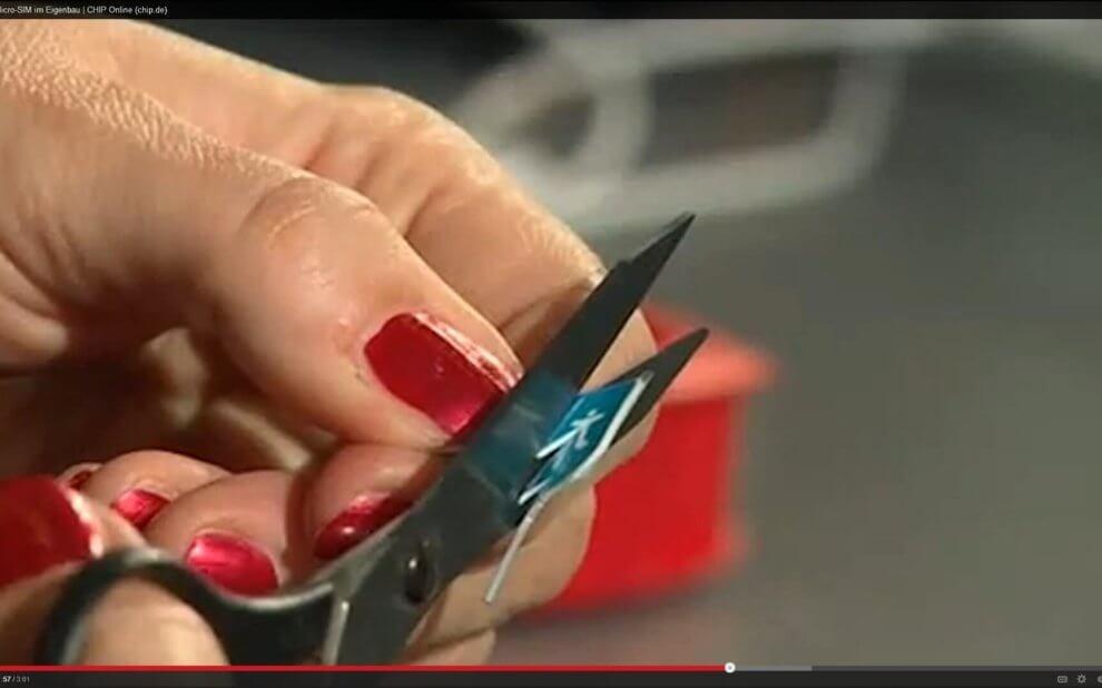 Micro-SIM basteln