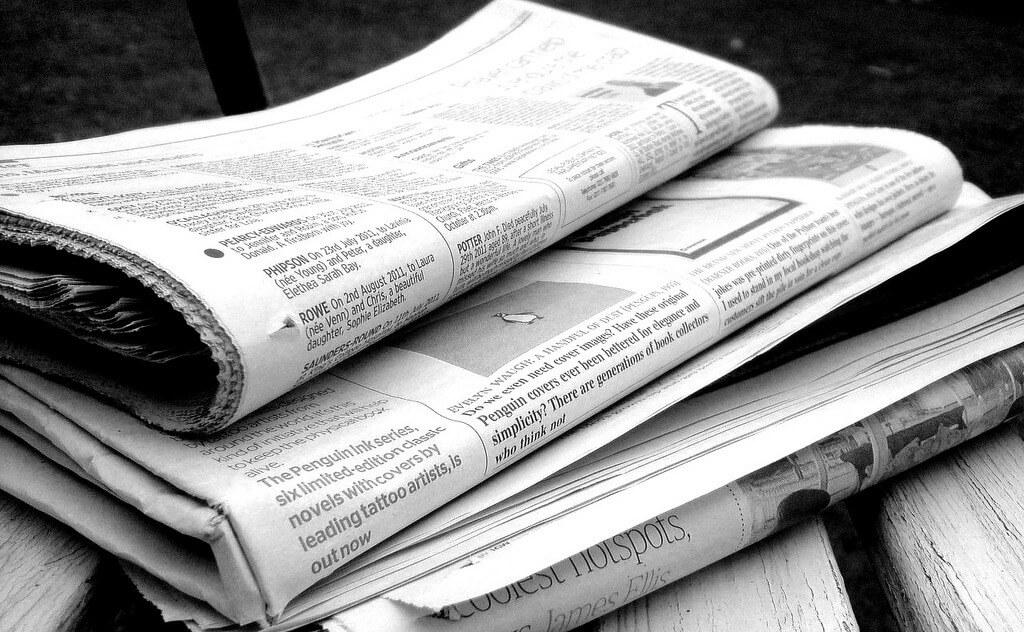 Newsübersicht, wie sie unsere Vorfahren kannten