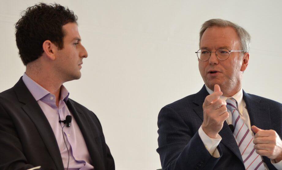 Jared Cohen und Eric Schmidt