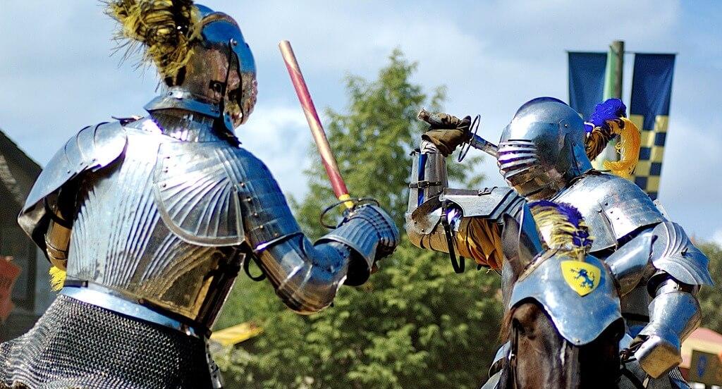 Auf in die Schlacht für einen fremden Herrn!
