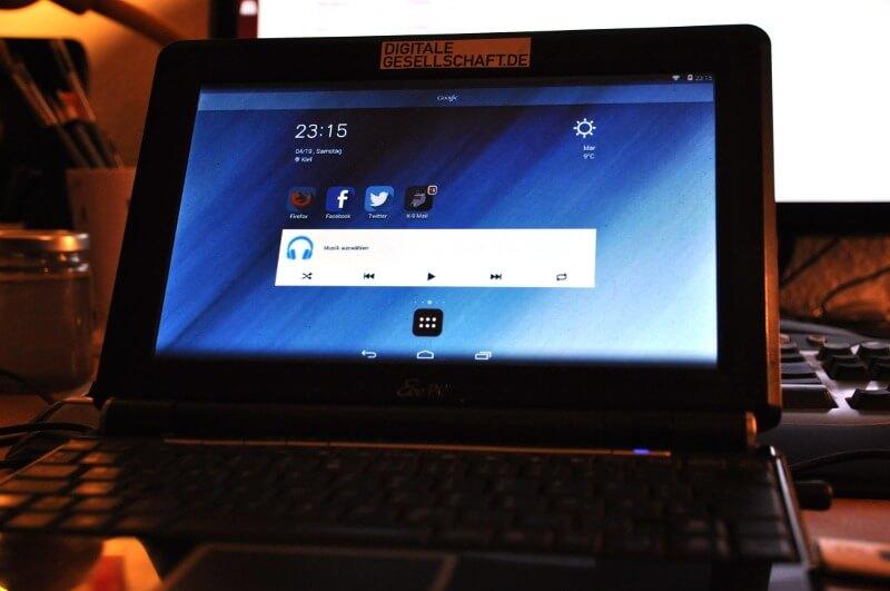 Android x86 auf meinen EeePC 1000h