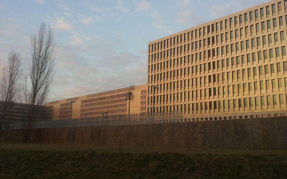 BND Gebäude in Berlin