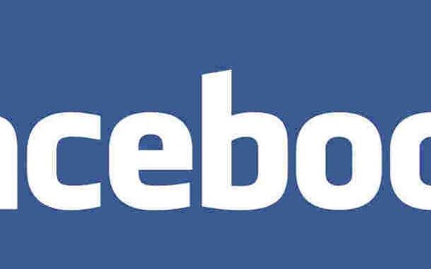 Facebook Logo mit Artefakten