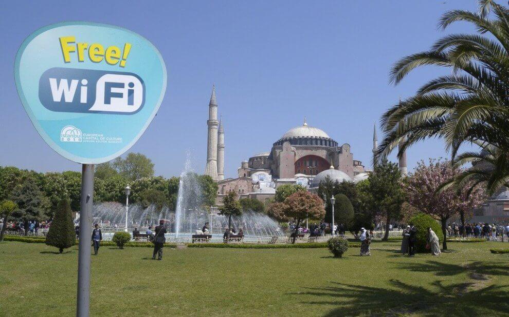 Freies WLAN in der Türkei