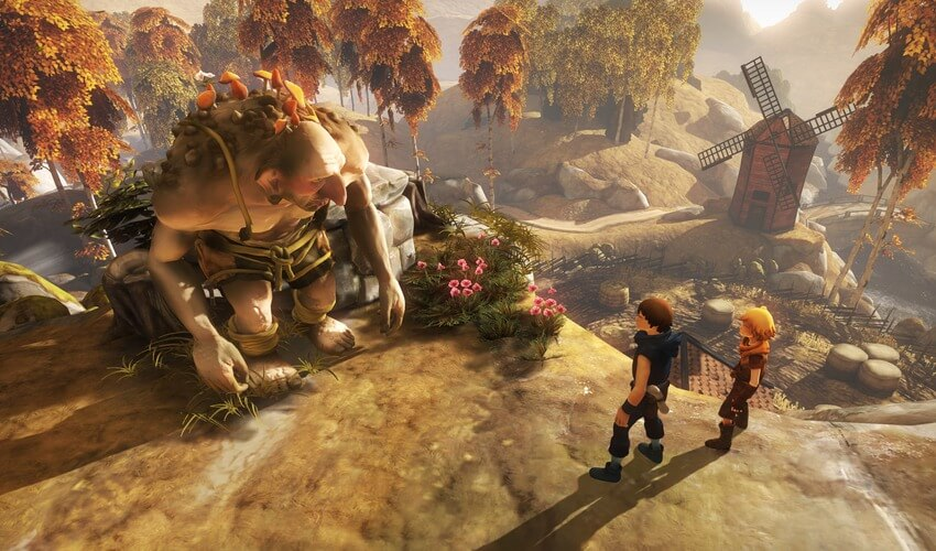 Screenshot aus Brothers: A Tale of Two Sons