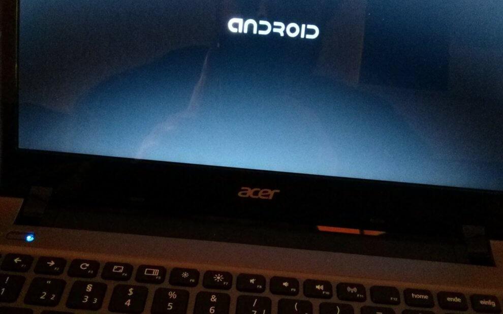 Android auf Acer C7