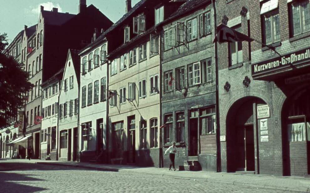 Kiel: Kleiner Kuhberg um 1940