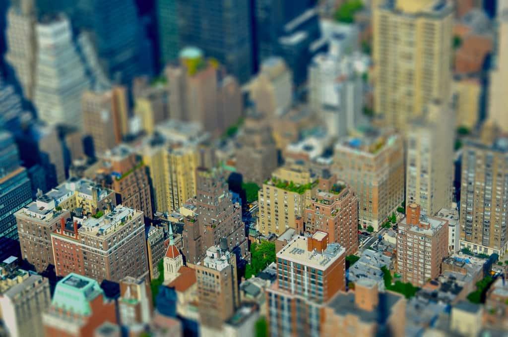 Manhattan in klein