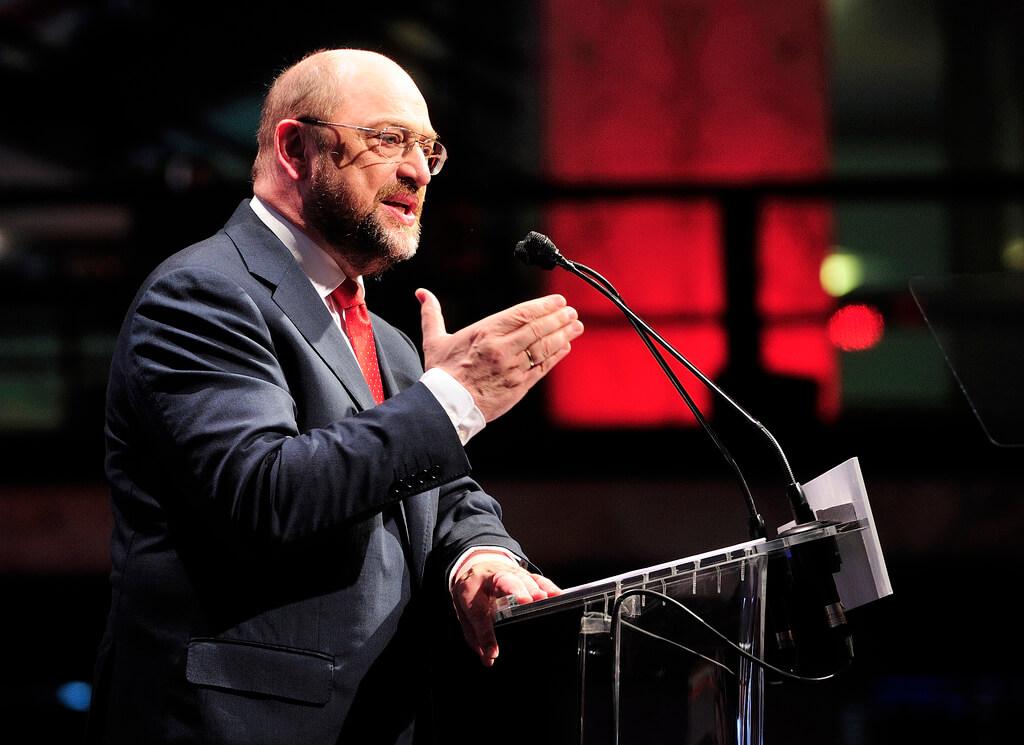 Martin Schulz am Rednerpult