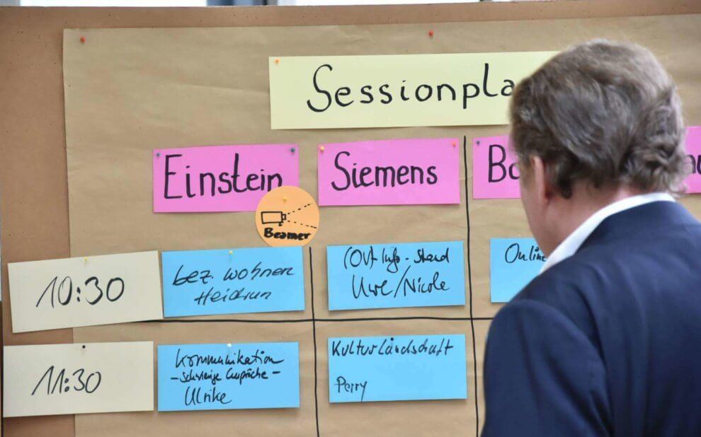 SPD BarCamp: Sessionplan