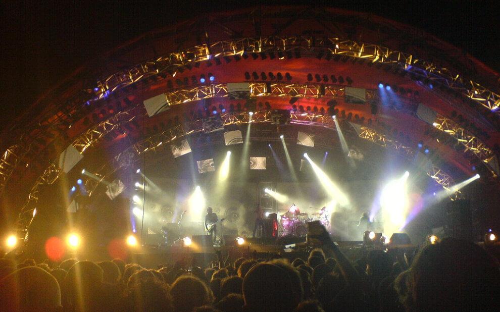 Tool beim Roskilde-Festival