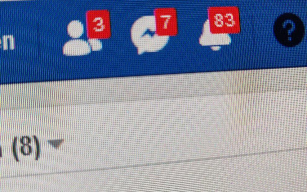 Benachrichtigungen bei Facebook