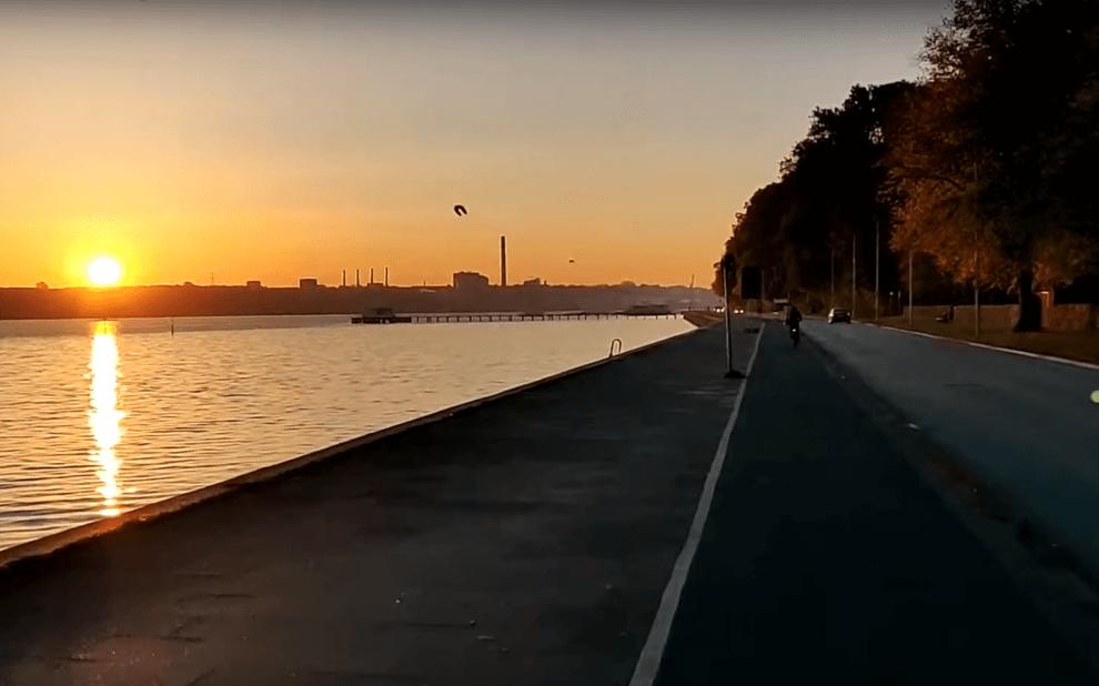 Sonnenaufgang an der Kiellinie