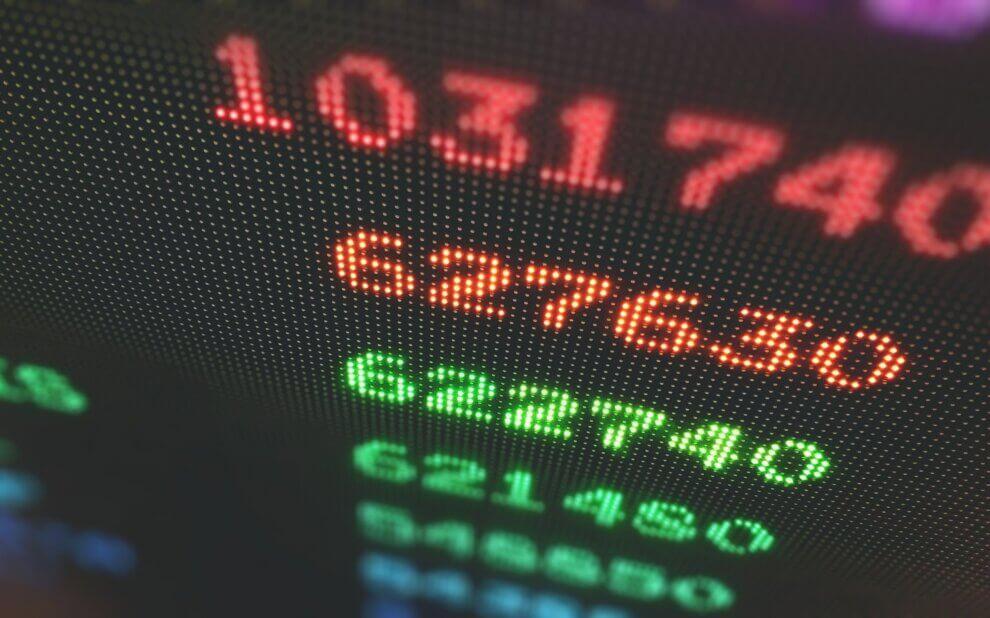Symbolbild: Irgendwelche Aktienkurse