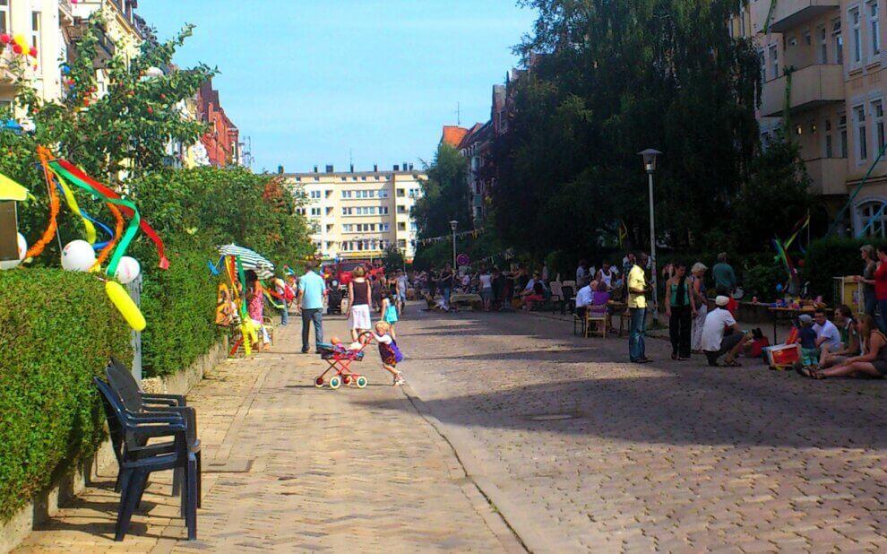 Straßenfest in der Steinstraße 2012